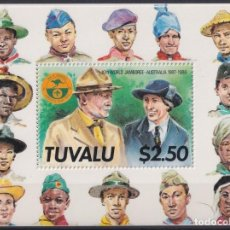 Sellos: F-EX21602 TUVALU MNH 1987 BOYS SCOUTS LORD BADEB POWELL.. Lote 244621870