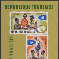 Sellos: F-EX22243 TOGO MNH 1968 BOYS SCOUTS SHEET.. Lote 244621895