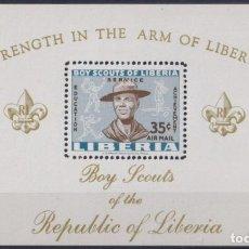 Sellos: F-EX22171 LIBERIA MNH 1961 BOYS SCOUTS JAMBOREE. Lote 244621945