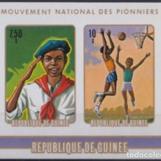 Sellos: F-EX22704 LIBERIA MNH 1974 PIONERS BOYS SCOUTS PERFORATED. Lote 244622015
