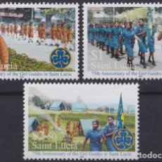 Sellos: F-EX23310 ST LUCIA MNH 2000 BOYS SCOUTS 75TH ANIV JAMBOREE GIRL GUIDES JUBILEE.. Lote 252717610