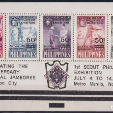 Sellos: F-EX23662 PHILIPPINES IS MNH 1979 BOYS SCOUTS NATIONAL JAMBOREE SURCHARGE.. Lote 252717700