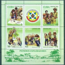 Sellos: ⚡ DISCOUNT CUBA 2002 PIONEER EXPLORERS, SCOUTS MNH - PIONEERS. Lote 255621810