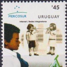 Sellos: ⚡ DISCOUNT URUGUAY 2013 MERCOSUR - INTERNET MNH - COMPUTERS, PIONEERS. Lote 262873685
