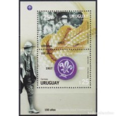 Sellos: ⚡ DISCOUNT URUGUAY 2007 THE 100TH ANNIVERSARY OF SCOUTING MNH - PIONEERS. Lote 274790623