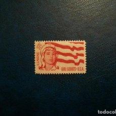 Sellos: /28.07/-ESTADOS UNIDOS-1962-4 C. Y&T 733 SERIE COMPLETA EN NUEVO(**MNH). Lote 277685113