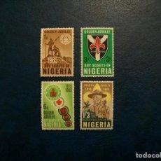 Sellos: /28.07/-NIGERIA-1965-Y&T 165/8 SERIE COMPLETA EN NUEVO(**MNH). Lote 277685383