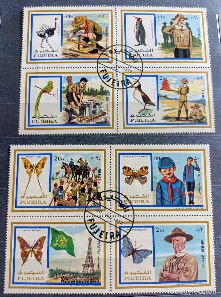 Sellos: Lote de 145 sellos usados de temática Scout - Foto 7 - 283016903