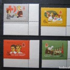 Sellos: RUSIA SCOUTS 1962 LOTE MNH**SIN CHARNELA LUJO!!!. Lote 290173203