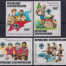 Sellos: F-EX26771 CENTRAL AFRICA REPUBLIC MNH 1982 BOYS SCOUTS JAMBOREE.. Lote 293289103