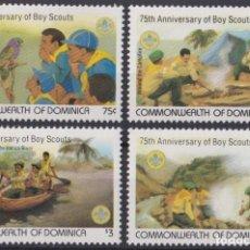 Sellos: F-EX26800 DOMINICA MNH 1982 BOYS SCOUTS JAMBOREE BOAT.. Lote 293289113