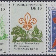 Sellos: F-EX26959 SAO TOME E PRINCIPE MNH 1988 AUSTRALIA CONGRESS BOYS SCOUTS JAMBOREE.. Lote 293289128