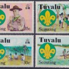 Sellos: F-EX26561 TUVALU MNH 1977 SCOUTING BOYS SCOUTS JAMBOREE.. Lote 293289133