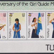 Sellos: F-EX26562 TUVALU MNH 1985 GIRL GUIDING BOYS SCOUTS JAMBOREE.. Lote 293289173