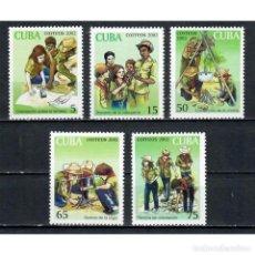 Sellos: ⚡ DISCOUNT CUBA 2002 PIONEER EXPLORERS, SCOUTS MNH - PIONEERS. Lote 296033978