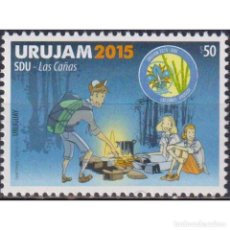 Sellos: ⚡ DISCOUNT URUGUAY 2015 SCOUTS MNH - TOURISM, PIONEERS. Lote 296062148