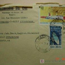 Sellos: 983 CARTA CIRCULADA DE BRASIL BRESIL A ALEMANIA GERMANY 1971 C&C. Lote 3407790