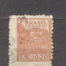 Sellos: BRASIL, USADO. Lote 19866740