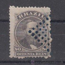 Sellos: BRASIL 26 USADA, PEDRO II . Lote 26434280