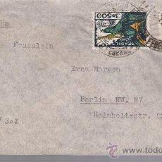 Sellos: CARTA DE RIO DE JANEIRO A BERLIN. DE 9 DE DICIEMBRE DE 1937. BONITA.. Lote 26763191