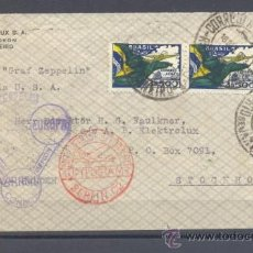 Sellos: 1933.- BRASIL A ESTOCOLMO (SUECIA). Lote 35191642