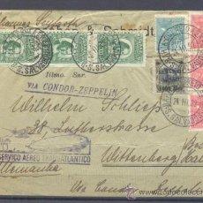 Sellos: 1932.- SALVADOR DE B (BRASIL) A ALEMANIA. Lote 35426937