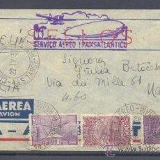 Sellos: 1932.- BRASIL A NAPOLES (ITALIA9. Lote 35444086