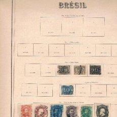 Francobolli: BRASIL. COLECCIÓN DE SELLOS. Lote 35565687