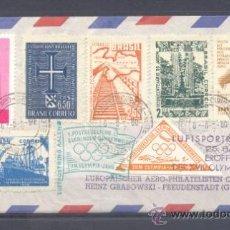 Sellos: 1960.- BRASIL A ALEMANIA. Lote 36175682