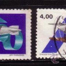 Sellos: BRASIL 1425/26 - AÑO 1980 - AVIONES - ANIVERSARIOS. Lote 36522426