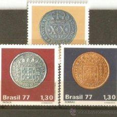 Sellos: BRASIL YVERT NUM. 1276/8 ** SERIE COMPLETA SIN FIJASELLOS. Lote 198719827