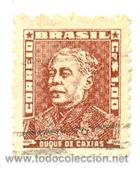 2-BRA583. SELLO USADO BRASIL. YVERT Nº 583. DUQUE DE CAXIAS (Sellos - Extranjero - América - Brasil)