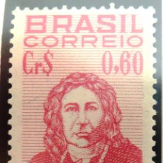 Sellos: SELLOS BRASIL 1954. NUEVO CON CHARNELA.. Lote 47865281