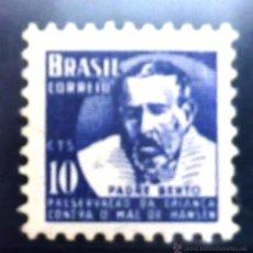 Sellos: SELLOS BRASIL 1954. NUEVO CON CHARNELA. PADRE BENTO.. Lote 47865331