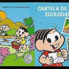 Sellos: BONITO CARNET DE SELLOS ECOLOGICOS BRASIL 1978 NUEVO NACIONES UNIDAS MONICA MNH *** SC. Lote 48446170
