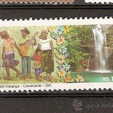Sellos: BRASIL ** COMUNIDADE KALUNGA, CAVALGANTE 2014. Lote 49627681