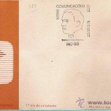 Sellos: BRASIL & FDC COMUNICACIONES SERIE, HOMENAJE A ROQUETTE PINTO, GUANABARA 1974 (1). Lote 52853373