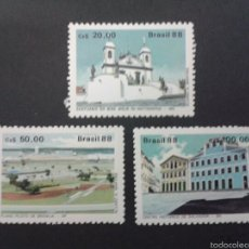 Sellos: SELLOS DE BRASIL. YVERT 1874/6. SERIE COMPLETA NUEVA SIN CHARNELA.. Lote 53538048