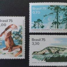 Sellos: SELLOS DE BRASIL. YVERT 1151/3. SERIE COMPLETA NUEVA SIN CHARNELA. . Lote 55005414