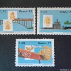 Sellos: SELLOS DE BRASIL. YVERT 1293/95. SERIE COMPLETA NUEVA SIN CHARNELA.. Lote 55005498