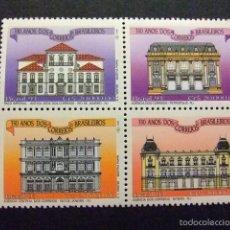 Sellos: BRASIL BRÉSIL 1993 350 º ANIVERSARIO DE SERVICIOS POSTALES YVERT Nº 2125 / 28 ** MNH. Lote 58816241