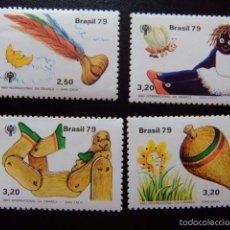 Sellos: BRASIL BRÉSIL 1979 AÑO INTERNACIONAL DE LA INFANCIA YVERT Nº 1397 / 00 ** MNH. Lote 59087370
