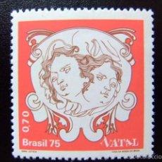 Sellos: BRASIL BRÉSIL 1975 NAVIDAD NOËL YVERT Nº 1170 ** MNH. Lote 59087550