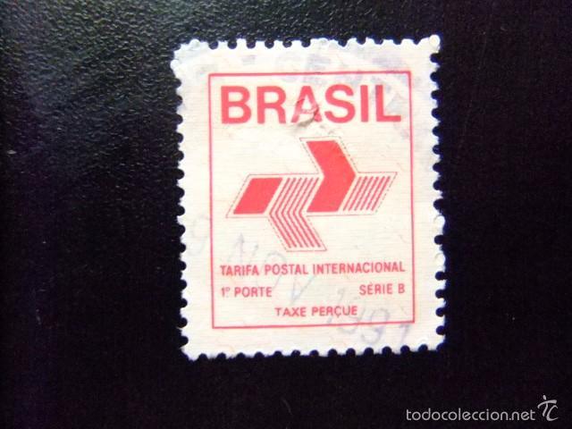 BRASIL BRÉSIL 1989 TARIFA POSTAL INTERNACIONAL YVERT Nº 1937 º FU (Sellos - Extranjero - América - Brasil)