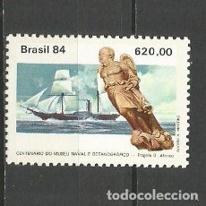 Sellos: BRASIL YVERT NUM. 1645 ** SERIE COMPLETA SIN FIJASELLOS. Lote 76081615