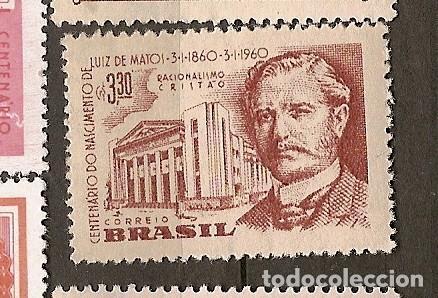 BRASIL * & NACIMIENTO DE LUIZ CENTENARIO MATOS 1960 (688) (Sellos - Extranjero - América - Brasil)
