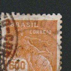 Sellos: BRASIL.1928-31.- 600 RS.YVERT 206.USADO.. Lote 79347257