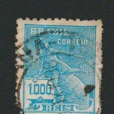 Sellos: BRASIL.1928-31.- 1.000 RS.YVERT 208.USADO.. Lote 79347753