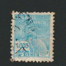 Sellos: BRASIL.1928-31.- 1.000 RS.YVERT 208.USADO.. Lote 79347941