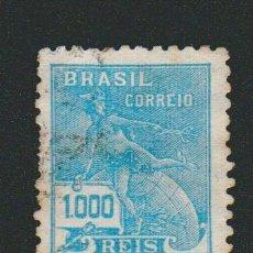 Sellos: BRASIL.1928-31.- 1.000 RS.YVERT 208.USADO.. Lote 79347977